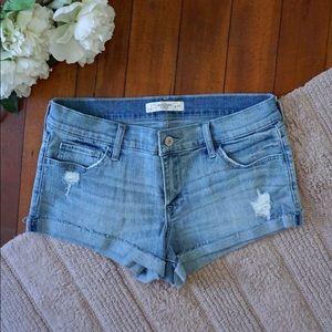 NWOT Abercrombie & Fitch denim shorts